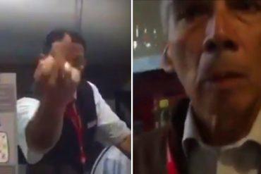 ¡ATROPELLO! Así agredieron varios trabajadores de Avianca al cantante venezolano, Alfonso Terán (Videos)
