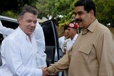 ¡PILAS CON ESTO! Santos quiere ser el nuevo mediador del diálogo y salvar a Maduro de la Carta Democrática