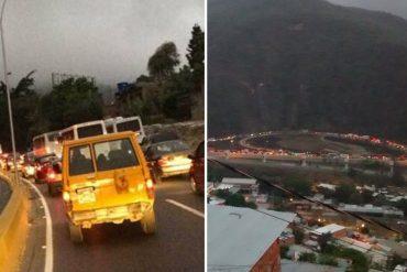 ¡EMPEZÓ EL MIEDO! GNB y PNB restringen accesos hacia Caracas por protesta de este jueves (+Fotos)