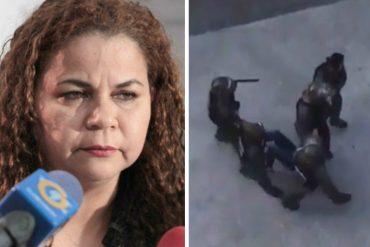 ¡DESCARADA! Iris Varela dice que periodista de Caracol se victimiza: fue ella quien agredió a guardias
