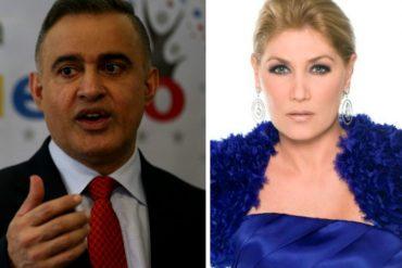 """¡CONTUNDENTE! Maite Delgado a Tarek William Saab: """"A mí me puedes bloquear, pero a Venezuela le tienes que dar la cara"""""""