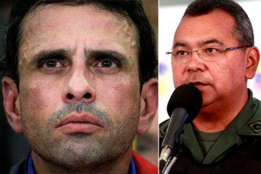 ¡TE LO MOSTRAMOS! Así de patéticos son los montajes de Néstor Reverol, según Capriles
