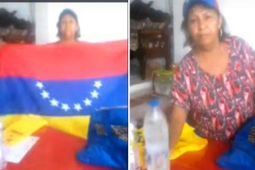"""¡A TOMAR DATO! Abuela de Maturín muestra su """"kit para las marchas"""" (video)"""
