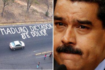 ¡REBELDÍA POPULAR! La pregunta que le dejó el estado Bolívar a Maduro: ¿leerá y responderá?