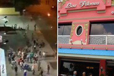 ¡NO FUE SAQUEO! Arepera Los Pilones de Altamira reparte comida a manifestantes (Video)