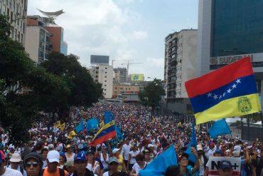 ¡FECHA CLAVE! Oposición convoca el domingo a la calle en el día 100 de protestas