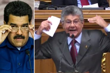 """¡LO DIJO TODO! Henry Ramos Allup le dice """"bobo"""" a Maduro: """"Es capaz de chocar un carro estacionado"""" (+Video)"""