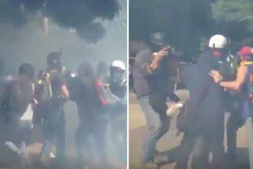 ¡DESMEDIDOS! GNB reprimió sin piedad en El Rosal (+Video)