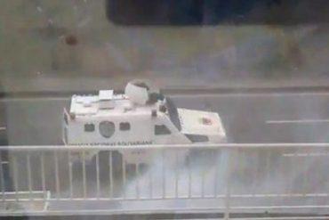 ¡GRAVÍSIMO! Denuncian que GNB disparó a comando de Capriles en Bello Monte