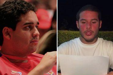 """¡PICAO'! La carta que escribió el hijo de Maduro a Yibram Saab por sus """"3 minutos de fama"""""""