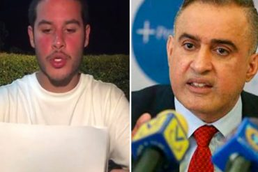 "¡HASTA QUE HABLÓ! Tarek William Saab le responde a su hijo y dice que ""no quebrarán la moral del Defensor"""