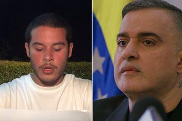 """¡EXPLOSIVO! Hijo de Tarek William Saab rompe el silencio: """"Papá, tienes que poner fin a la injusticia"""" (+Video)"""