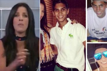 ¡PÍLLALO! Tuiteros reventaron a Annarella Bono por el mensaje que dedicó a su sobrino César Pereira, muerto en protesta
