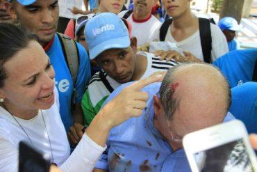 ¡LO ÚLTIMO! Heridos los diputados Juan Andrés Mejía y Omar González en protestas de este #10May