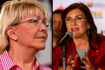 """¡ROJITOS CONTRA LA FISCAL! Jacqueline Faría estalla contra Ortega Díaz: """"Se pone del lado adverso de la realidad del país"""""""