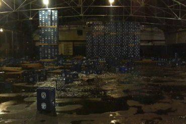¡REINA LA ANARQUÍA! Reportaron nueva noche de saqueos en Valencia (incluyendo depósito de Polar)