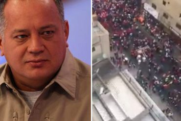 """¡NO LO VERÁS EN VTV! El """"gentío"""" que espera a Diosdado Cabello en Puerto La Cruz (+Video)"""