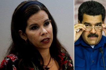 """¡LO DEJÓ COMO LOCO! Gabriela Ramírez ironiza sobre las contradicciones de Maduro ante una supuesta """"invasión gringa"""""""