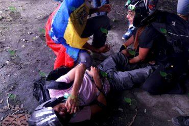 ¡ÚLTIMA HORA! Reportan 2 heridos por represión de la GNB en la Francisco Fajardo a la altura de El Recreo (+Video)