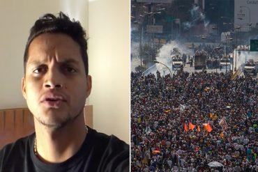 ¡CLARO QUE SÍ! Roberto Rosales sobre Consulta Popular: Vamos a ganar este partido Venezuela (+Video)