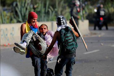 ¡ATENCIÓN! Represión de este #7J dejó más de 200 heridos