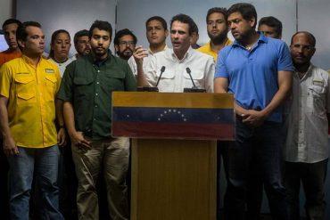 ¡CRUELDAD DESATADA! Capriles reportó 247 heridos por represión en protesta en Caracas
