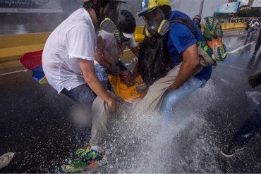 ¡SALVAJADA INDIGNANTE! El momento en el que Paparoni fue arrastrado por la presión de agua de la ballena