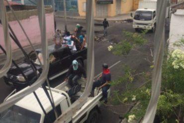 ¡ENTÉRATE! Reportan que colectivos generan destrozos en Barquisimeto este #30Jun