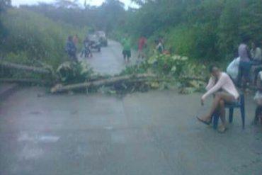 ¡REPROCHABLE! Mujer resultó herida con perdigones en protesta por comida en Vargas