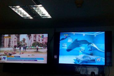 ¡MAYOR DESFACHATEZ! Lo que transmitían en VTV mientras reprimían al pueblo en las calles #3Jun
