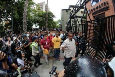 ¡QUÉ DESCARO! Funcionarios de Conatel negaron a estudiantes que haya censura en el país