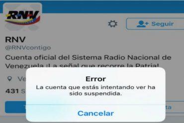 ¡PARA QUE SEAN SERIOS! Suspendieron más de 180 cuentas del gobierno en Twitter