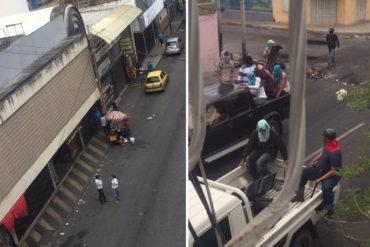 ¡DÍA DE TERROR! Cierran comercios en Cabudare y Barquisimeto tras asedio de colectivos armados