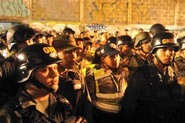 ¡REPUGNANTE! Denuncian que GNB violó a manifestante con armamento en Pueblo Nuevo, Barquisimeto