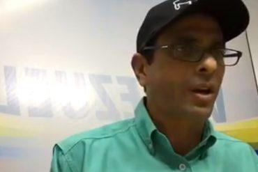 ¡LO ÚLTIMO! Capriles pidió a Polimiranda desobedecer órdenes contra la Constitución