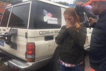 ¡CANALLAS! La GNB persiguió a Lilian Tintori cuando intentó entrar a la cárcel a ver a Leopoldo López (+Video)