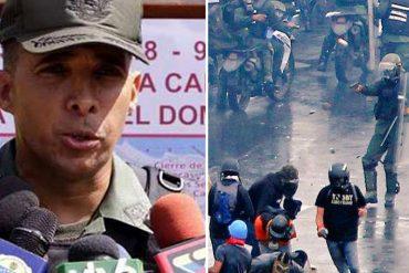 ¡TARDE PIASTE! Benavides Torres: Los militares tienen prohibido el uso de armas para controlar disturbios