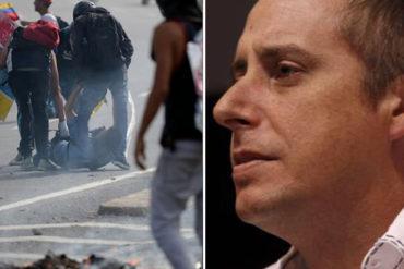 ¡RASTRERO! El miserable comentario de Roque Valero: No veo a ningún diputado de derecha junto a David Vallenilla
