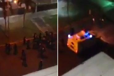 ¡DE TERROR! GNB arremetió con brutalidad contra residencias y vecinos de Maracay (+Video)