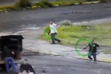 ¡DELINCUENTES! Colectivos secuestraron a manifestantes en el sector Los Mangos de Puerto Ordaz