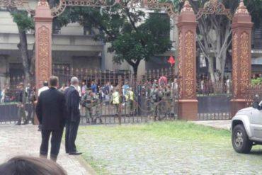 ¡QUÉ MARAVILLA! AN denuncia que GNB NO intenta resolver situación de secuestro en el Palacio Legislativo #5Jul