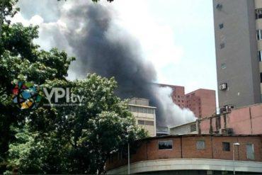 ¡ÚLTIMA HORA! Reportaron fuerte explosión en Sabana Grande (+Fotos +Videos)