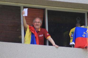 ¡BRAVO! Ledezma también ejerció su derecho al voto contra la Constituyente (+Video+ Puñetazo a Zapatero)