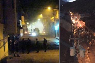 ¡ALERTA! Varios heridos de bala en Boconó luego de ataque de colectivos que intentaban robar cuadernos