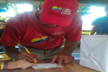 ¡SE REBELARON! Chavistas votaron contra Maduro en el #Plebiscito16J (+Fotos)