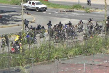 ¡LO ÚLTIMO! Grupo armado disparó contra manifestantes en Montalbán durante trancazo: reportan herido