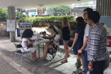 ¡SIN MIEDO! Venezolanos participan en el plebiscito desde Hong Kong y Japón (+Videos)