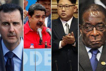 ¡PURA JOYA! Conoce a los 3 dictadores que acompañan a Maduro en la lista de presidentes sancionados por EEUU