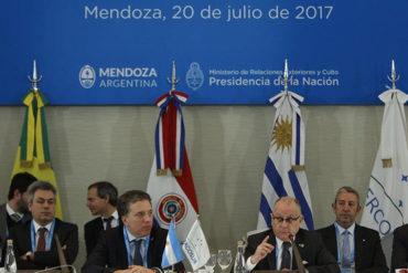 ¡LO ÚLTIMO! Mercosur le da un ultimátum a Nicolás: Expulsarán a Venezuela si no da marcha atrás