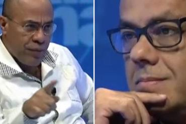 "¡IMPELABLE! Así le calló la boca Vladimir Villegas a Jorge Rodríguez por tratar de ""psicoanalizarlo"" (+Video)"
